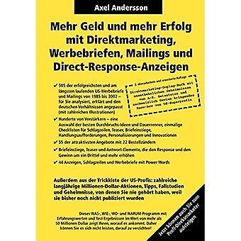 Mehr Geld Und Mehr Erfolg Mit Direktmarketing, Werbebriefen, Postit & Suora vastaus-Anzeigen