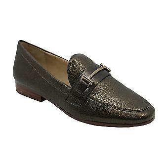 Enzo Angiolini Womens Tatye Leather Closed Toe Loafers