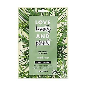 Tea Tree Oil & Vetiver face mask 21 ml