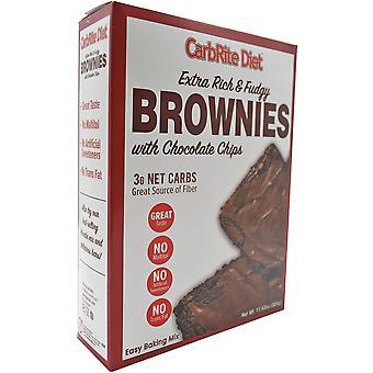 عالمي التغذية CarbRite حمية Maltitol خالية من الكربوهيدرات المنخفضة براوني ميكس