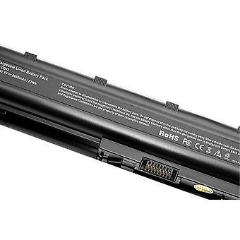 Bateria de laptop preto 6cells Mu06 para hp notebook pc, pavilhão G4 G6 G7 G32 Cq42