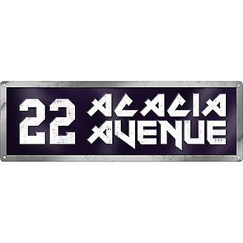 Grindstore 22 Placa da Avenida Acácia