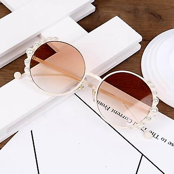 الأطفال اللؤلؤ النظارات الشمسية، نظارات النظارات لطيف الظل Uv400
