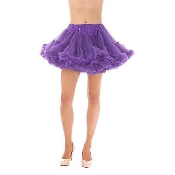 Short Bridal Petticoat Robe de mariée Underskirt Adulte Tutu Tulle Slips Mariage