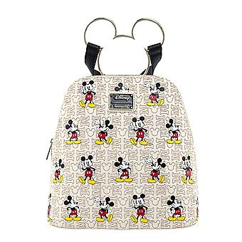 Disney Mini Backpack Mickey Mouse Golden Ears new Official Loungefly