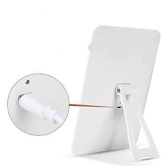 USB opladning kosmetiske og makeup forfængelighed spejl med lys - Touch Screen