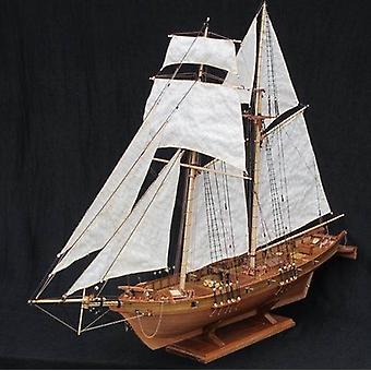 Klassiker Antik Harvey Slagskepp trä segelbåt Modell