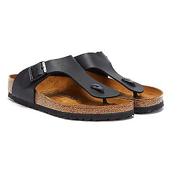 Birkenstock Ramses Birko-Flor Mens Black Sandals