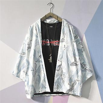 Kimono z męskim nadrukiem