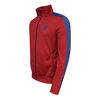 Puma Мужская Бегущая куртка Случайный Цип Трек Топ Jester Красный 565194 22 Y54A