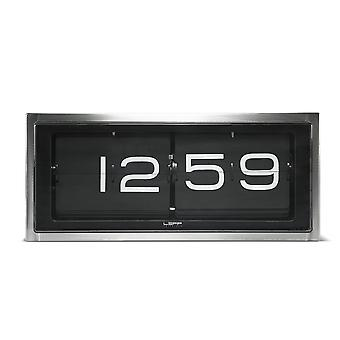 Leff Amsterdam LT15101 Brick 24HR Vintage Style Flip Clock
