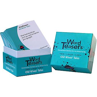 Old Wives' Tales Flash Card, 150 Preguntas