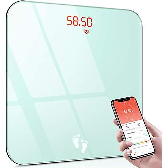 Cocoda Digital Body Weight Scale, Smart Bluetooth Bathroom Scales with Smartphone App, 400 lbs