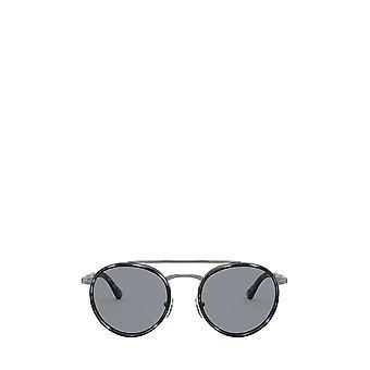 Persol PO2467S gunmetal & azul rejilla unisex gafas de sol