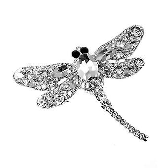 Crystal Vintage Dragonfly Broches, Pin Dress Coat Accessoires
