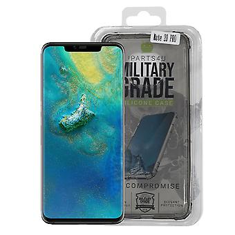 iParts4u Military Grade Silicone Case - Huawei Mate 20 Pro - Black