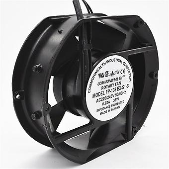 Axiale Ventilator Fp-108ex-s1-b 220v 38w Dual Bearing Cooling Fan Oval