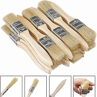 1 Inch (24mm) Paint Brushes And Chip Paint Brushes For Paint Stains Varnishes