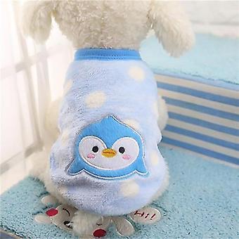 Talvi lämmin sarjakuva lemmikki vaatteet