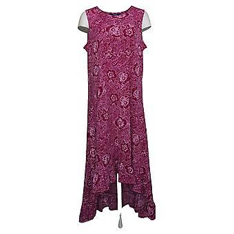 Kelly by Clinton Kelly Dress Regular Knit Maxi W/ Ruffle Hem A305891