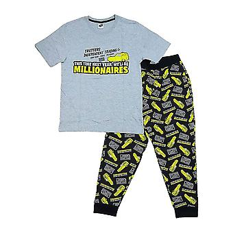 Men's Only Fools and Horses Trotters Millionaires Pyjama Set