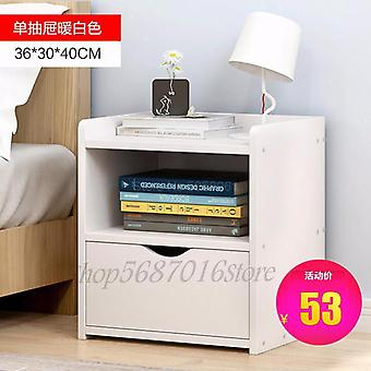 Bedside Table Shelf, Simple Modern Small Storage Cabinet