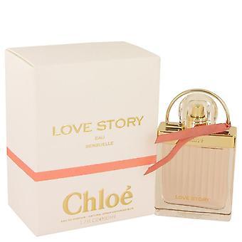 Chloe Love Story Eau Sensuelle Eau De Parfum Spray By Chloe 1.7 oz Eau De Parfum Spray