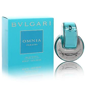 Omnia Paraiba Eau De Toilette Spray By Bvlgari 1.3 oz Eau De Toilette Spray
