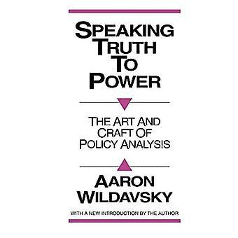 Spreken van de waarheid aan de macht