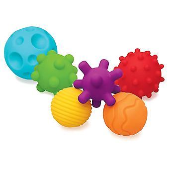 Infantino sensorisk teksturert multi ball sett