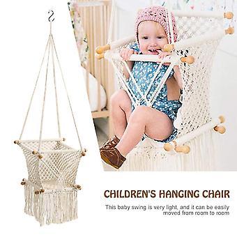 Baby hängande swing sits hängmatta stol för spädbarn småbarn heminredning