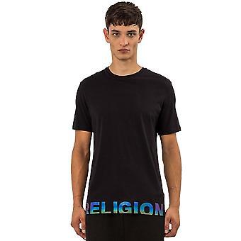 Religion 11tron03 Right Of Tee Reflect Logo T-shirt - Black