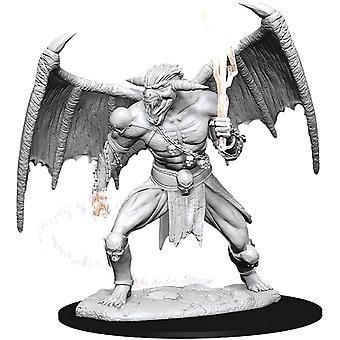 D&D Nolzurs Marvelous Upainted Miniatures Wave 11 Young Silver Dragon (W11)