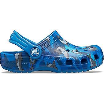 Crocs Classic Shark Clog PS 2061474KI Universal Sommer Säuglinge Schuhe