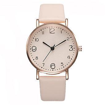 Fashion Luxury Leather Band Analog Quartz Wrist Watch