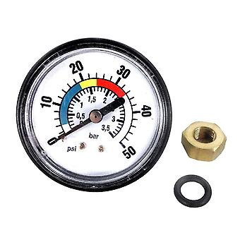 Astral 4404210303 Pressure Gauge Kit with Nut