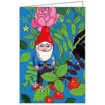 Notecards  Garden Gnomes Fliptop Notecard Box