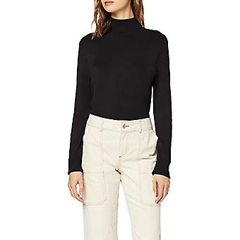 Alleen ONLVENICE L/S Rollneck Pullover Knt Noos Turtleneck, Zwart Zwart, Kleine Vrouw