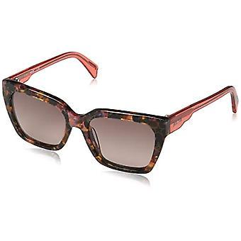 Just Cavalli Sunglasses Jc784s 55t 53 Frames, Brown (Havana ColorfulBordeaux Grand), Woman