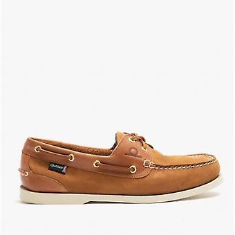 Chatham Bermuda Ii G2 Mens Leather Boat Shoes Tan