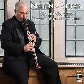 Nielsen / Shifrin / Purvis - Clarinet Concerto / Chamber Music with Clarinet [CD] USA import