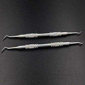 2Pcs/Lot Double Ended Nail Cuticle Pusher Remover Manicure Pedicure Tools|Cuticle Pushers