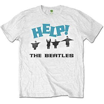 The Beatles - Help! Snow Heren Medium T-Shirt - Wit