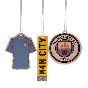 Manchester City FC (3-pakning) Air Freshener