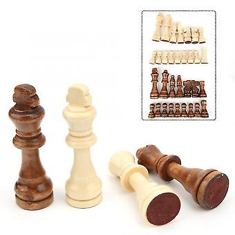 Din lemn International șah piesa de interacțiune Puzzle jucărie