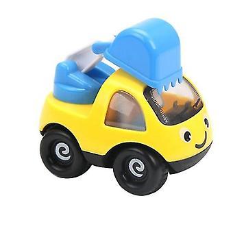 الفتيان والفتيات مصغرة الكرتون هندسة السيارات الجمود سيارة، الأطفال لطيف سيارة نموذج طائرة