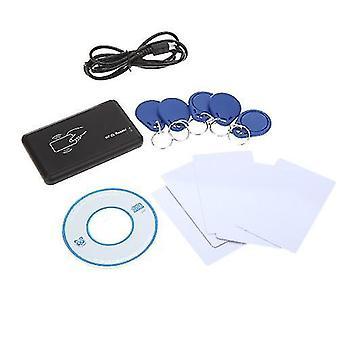 Kontaktlose 14443A Karte Encoder IC Kartenleser Schreiber mit 5pcs Karten 5pcs Schlüsselanhänger USB Schnittstelle