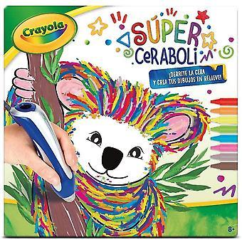 - Dekoration Wachs 25-0392 Super Ceraboli Koala, Mehrfarbig (Binney & Smith Italien 1)