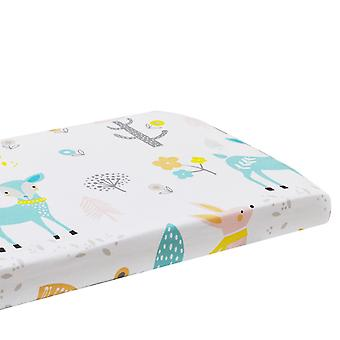 Swotgdoby Childrend's Cartoon Cotton Bed Canopy, Flat Bed Spread