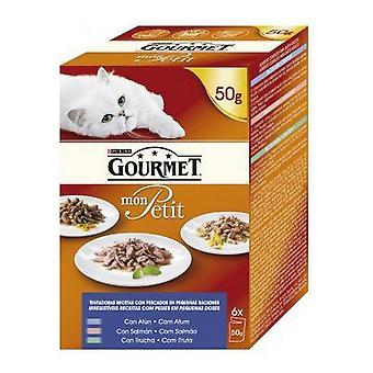 Hrană pentru pisici Purina Monpetit (6 x 50 g)